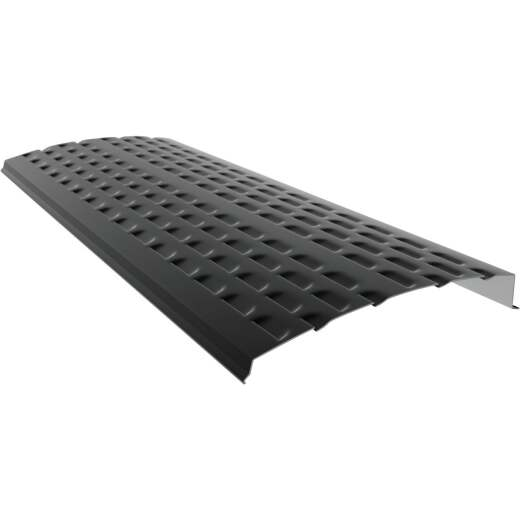 E-Z-Shield 4 Ft. Black Aluminum Gutter Guard, (25-Pack)