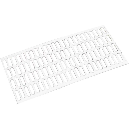 Amerimax 5 Ft. White Vinyl Leaf Guard for Contemporary Vinyl Gutter