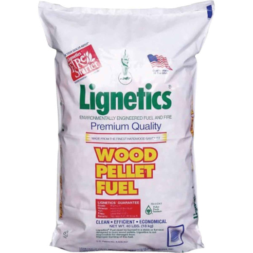 Lignetics 40 Lb. Wood Pellet Fuel