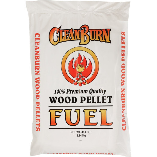 Clean Burn 40 Lb. Wood Pellet Fuel