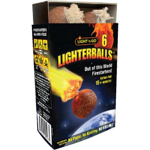Light'n Go Lighterballs Fire Starter (6-Pack)