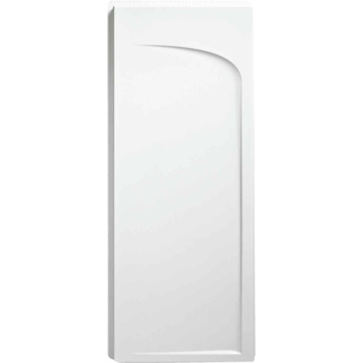 Sterling Ensemble 72-1/2 In. H x 34 In. D Curved Shower End Wall in White