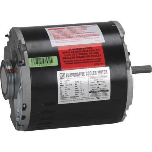 Dial 1/2 HP 2-Speed Residential Replacement Cooler Motor