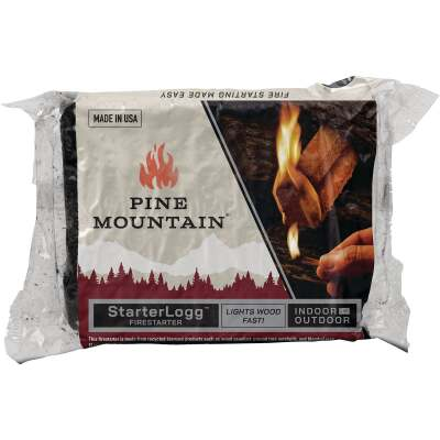 Pine Mountain StarterLogg Indoor/Outdoor Fire Starter (24-Pack)