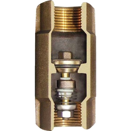 Simmons 1-1/2 In. Silicon Bronze Lead Free Check Valve