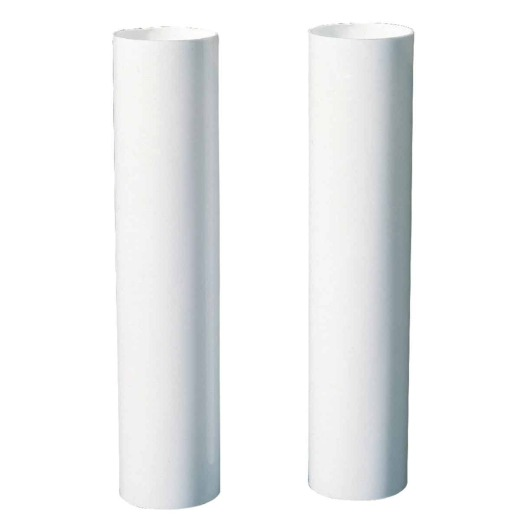 Westingouse White Candelabra Base Plastic Lamp Socket Cover (2-Pack)