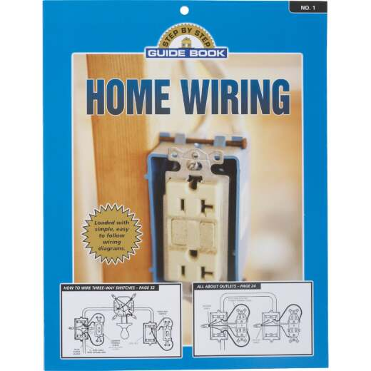 Step by Step Guide Home Wiring Manual Paperback Book