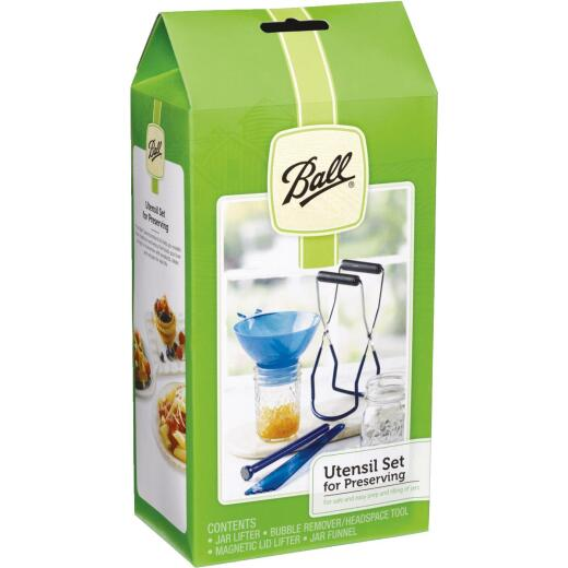 Ball Canning Utensil Set (4-Piece)