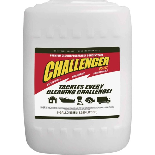 Sunnyside Challenger 5 Gal. Concentrated Cleaner & Degreaser