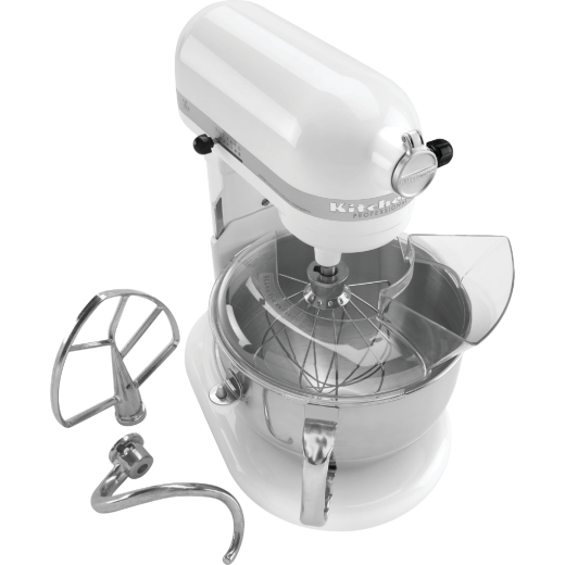 KitchenAid 10-Speed White Professional Stand Mixer