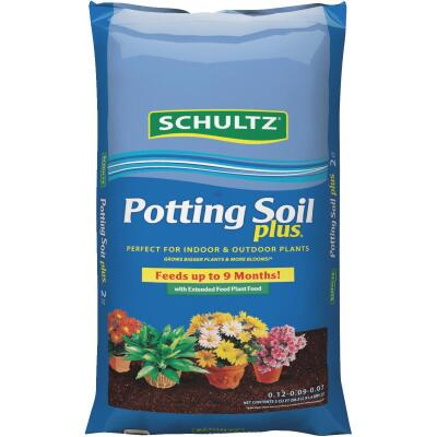 Schultz Premium 2 Cu. Ft. 46 Lb. All Purpose Indoor & Outdoor Potting Soil