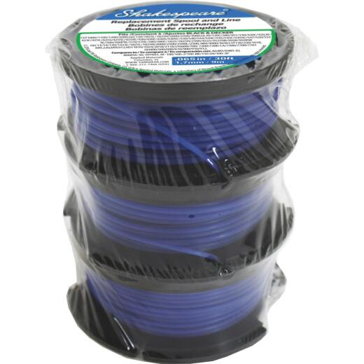 Shakespeare 0.065 In. x 30 Ft. Trimmer Spool (3-Pack)