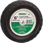 Arnold 6 In. Diamond Tread Offset Hub Wheel Image 1