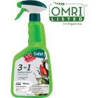 Safer 3-In-1 32 Oz. Ready To Use Trigger Spray Insecticidal Soap with Fungicide Insect Killer Image 1