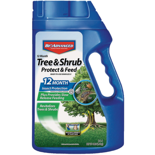 BioAdvanced 4 Lb. Ready To Use Granules Tree & Shrub Protect & Feed Insect Killer