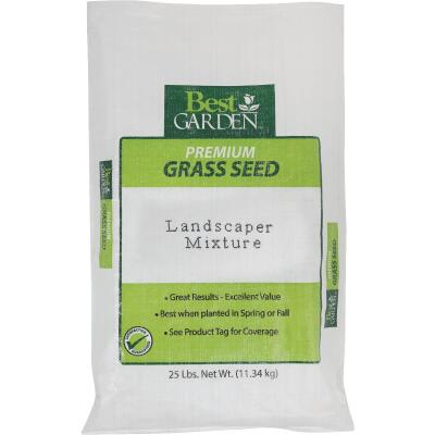 Best Garden 25 Lb. 3750 Sq. Ft. Coverage Sun to Partial Shade Grass Seed