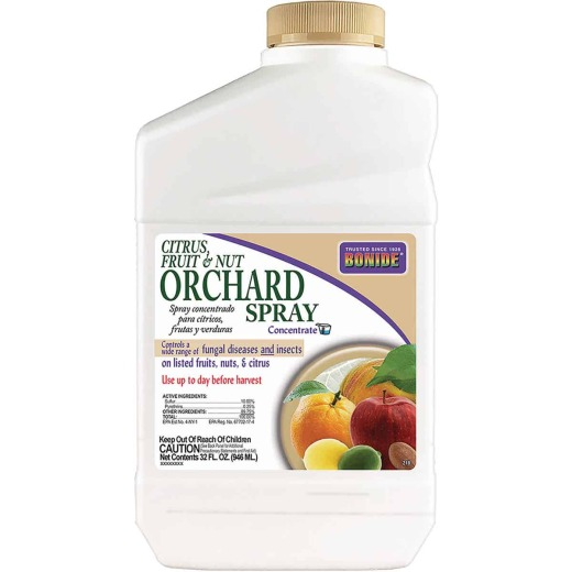 Bonide 32 Oz. Concentrate Orchard Spray Fruit Tree Insect & Disease Killer