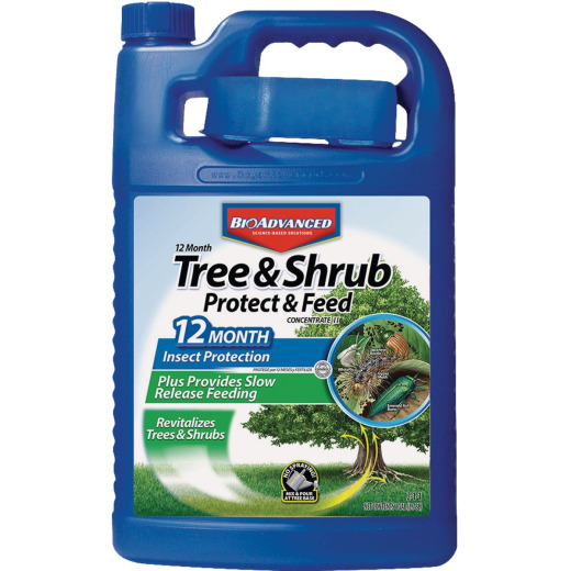 BioAdvanced 1 Gal. Concentrate Tree & Shrub Protect & Feed Insect Killer