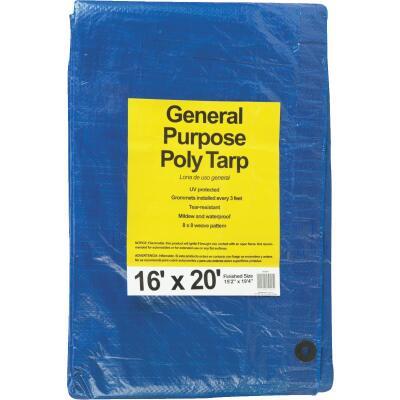 Do it Blue Woven 16 Ft. x 20 Ft. General Purpose Tarp