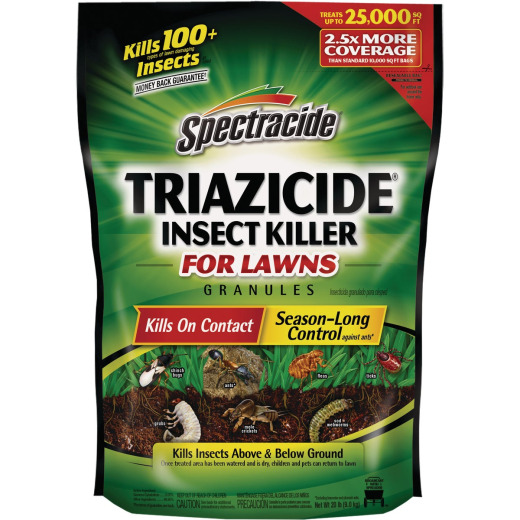 Spectracide Triazicide 20 Lb. Ready To Use Granules Insect Killer For Lawns