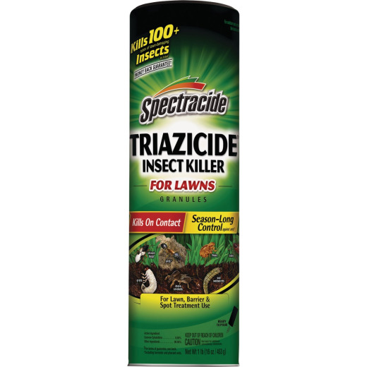 Spectracide Triazicide 1 Lb. Ready To Use Granules Insect Killer For Lawns