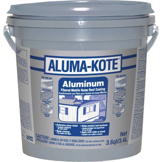 Gardner Aluma-Kote 1 Gal. Aluminum Fibered Mobile Home Roof Coating