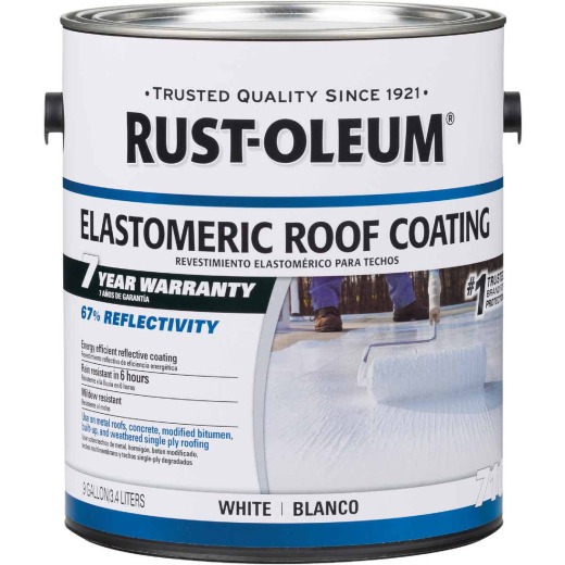 Rust-Oleum 710 1 Gal. 7-Year Elastomeric Roof Coating