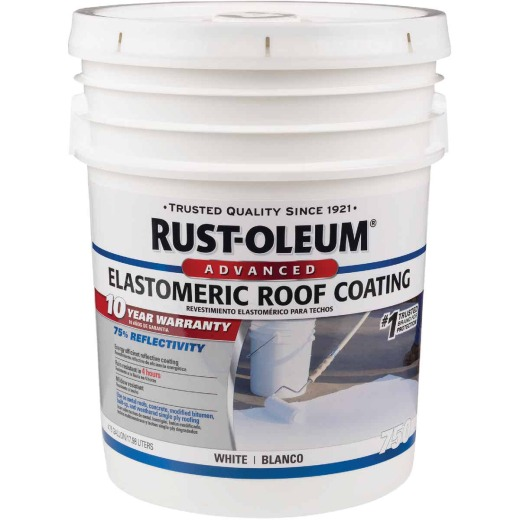 Rust-Oleum 750 5 Gal. 10-Year Elastomeric Roof Coating