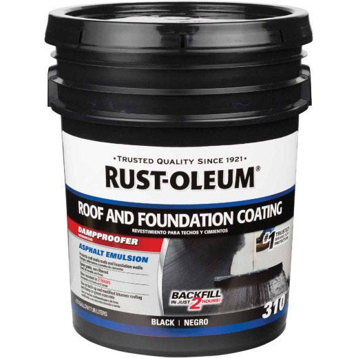 Rust-Oleum 310 5 Gal. Roof and Foundation Coating