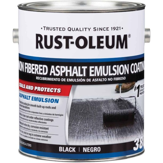 Rust-Oleum 380 1 Gal. Non-Fibered Asphalt Emulsion Coating