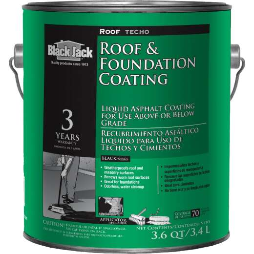 Black Jack 1 Gal. Roof & Foundation Coating