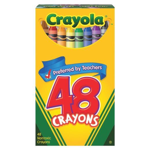 Crayola Traditional Crayons (48-Pack)